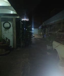 entrada, garagem quiosque, quintal