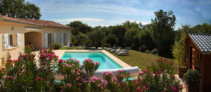 Villa with all modern cons in South Ardeche