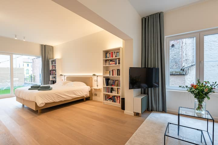 Luxurious suite in the historic centre of Ghent