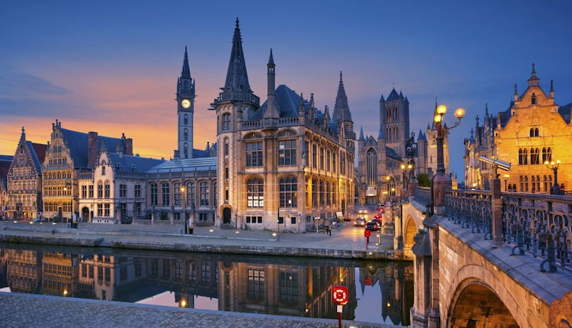 Beautiful stay in the Historic centre of Ghent