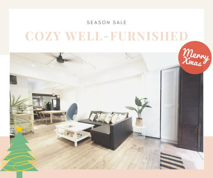 Cozy Well-Furnished  in the Heart of Taipei