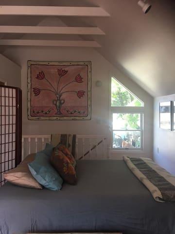 Colburn House Studio with Sun