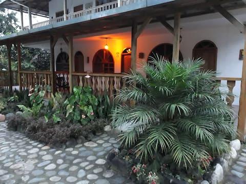 Banana Lodge in Misahualli, Ecuador