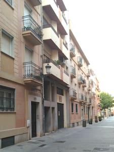 calle de la entrada del piso