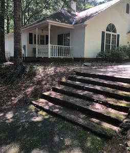 Steps to front walkway.