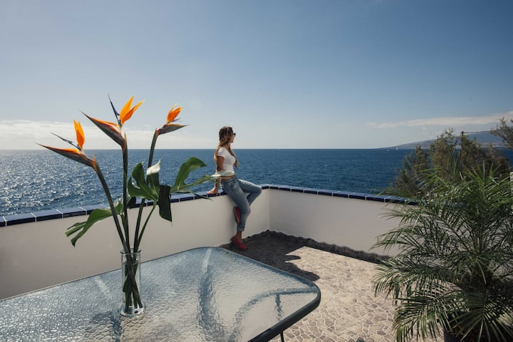 Beautiful Casita ¨above¨ the Atlantic Ocean