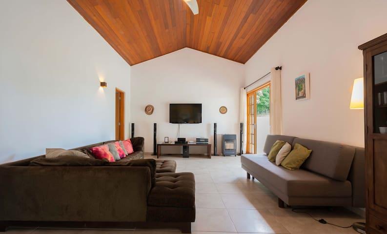 Sala de estar e multimídia