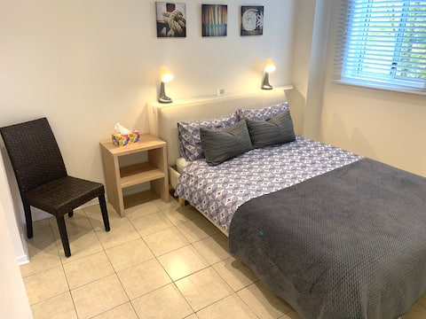 公寓配有湖泊+海灘街區、WIFI和空調