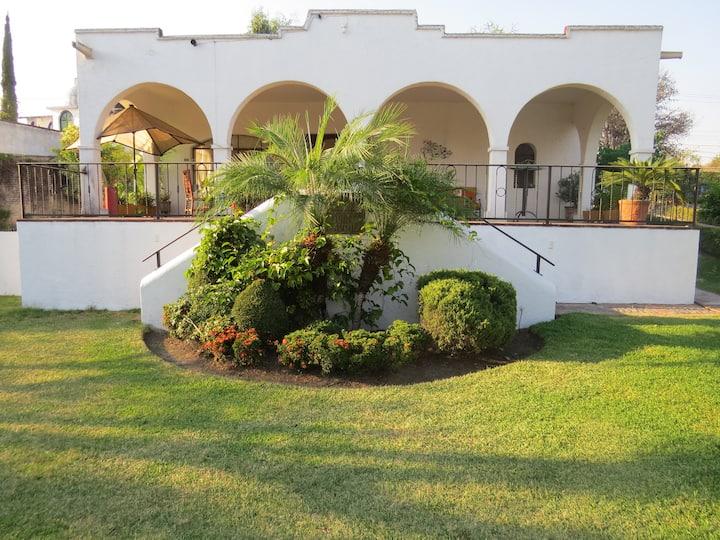Casa fin de Semana Oaxtepec Tlayacapan Jardínes