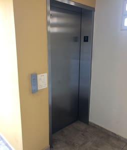 Elevator to get to the third floor.