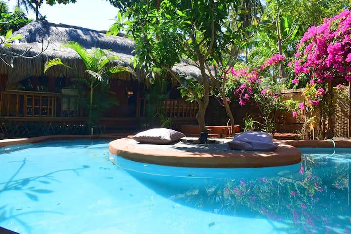 Villa Bambu @ Meno Island Villas, Gili Meno