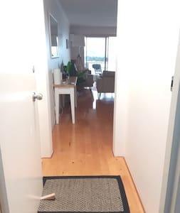 Entry is a standard door 82cm wide