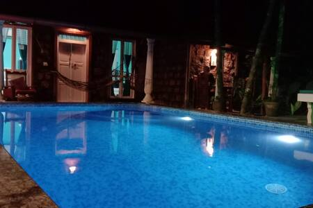 Private pool villa Marari Beach