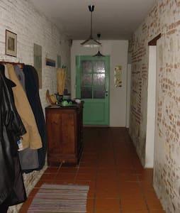 le couloir mesure 170 cm de large