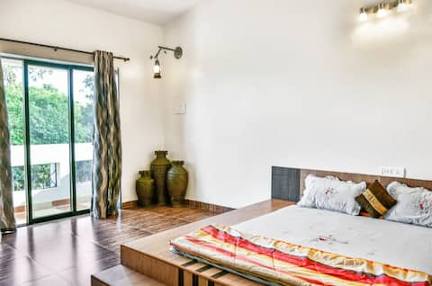 Spacious 2 BHK Bungalow with Private lawn
