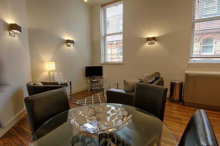 Modern 1 Bed Serviced Apartment, Reading Centre
