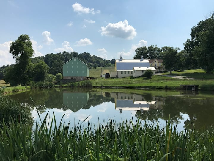 Great Family Retreat at Private Farmhouse