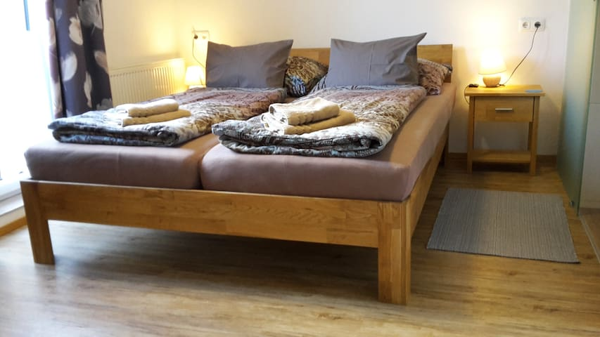 Double Bedroom 'Holz Zimmer' - Adults Only