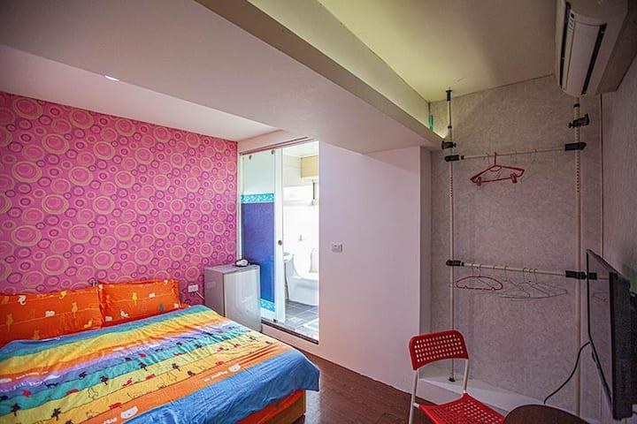 宜蘭羅東公寓電梯大樓~短租套房