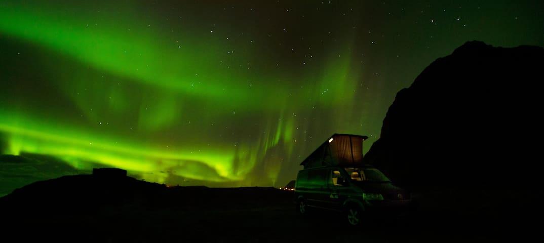 Explore Lofoten with VW Camper Van