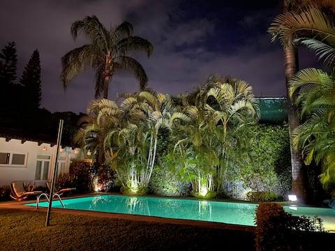 Maison de charme près de Cuernavaca et San Gaspar Golf