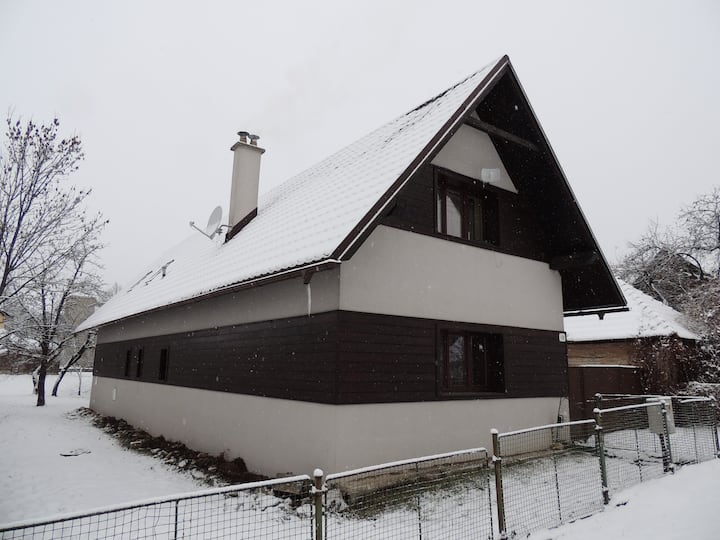 House under the Low Tatras