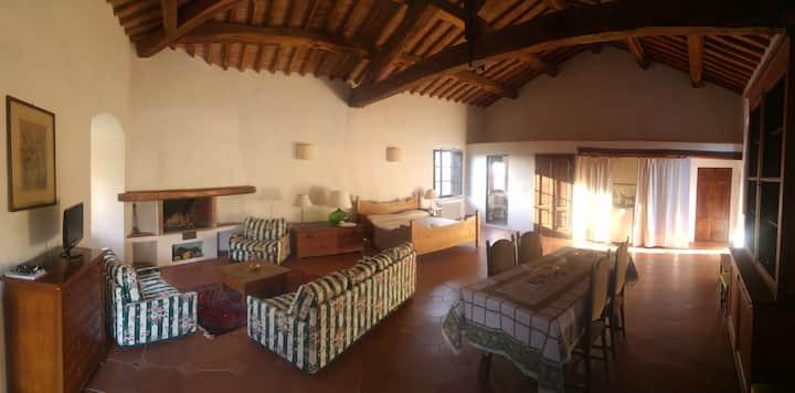 Medieval castle - bedroom - 70sqm - Florence 15km