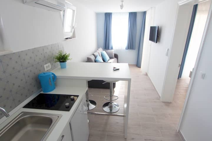 Modern new apartment 2+1 with sea view