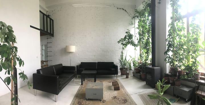 ॐLoft: Tropical Grden Studio /w balcony &fireplace