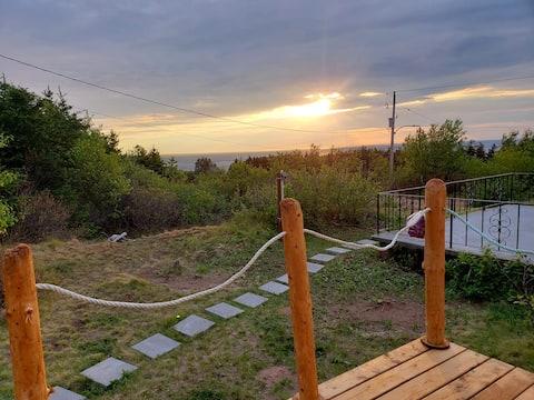 Ocean View Econo Suite Cabot Trail Cape Breton