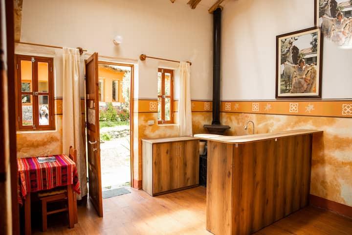 Habitación Familiar con kitchenette y refrigerador