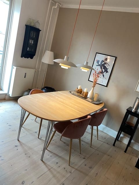 Cosy apartment with own terrasse