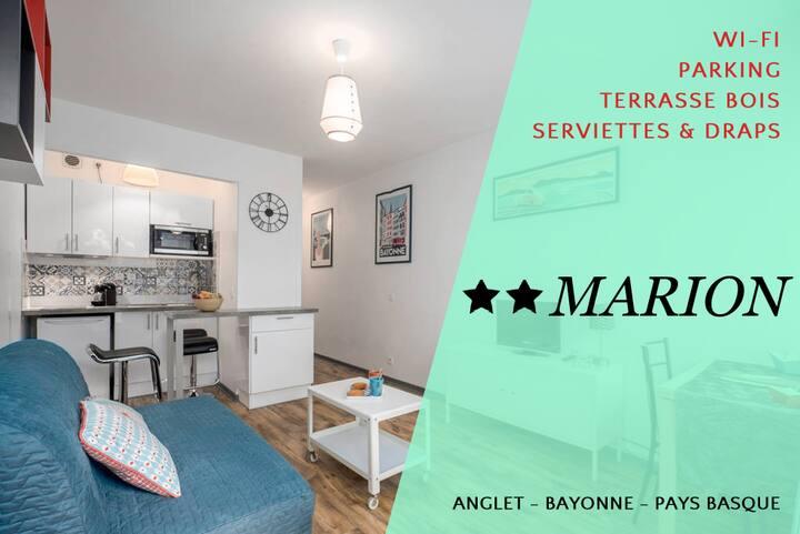 Free parking & AirBnb fees ★ Terrasse ★ Côté parc