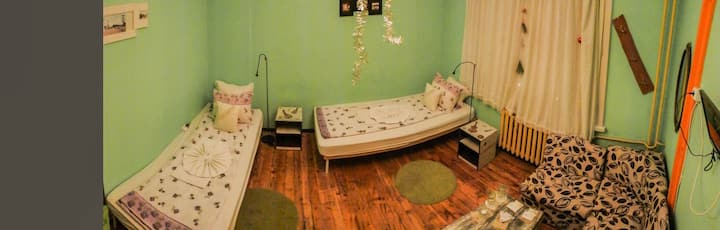 Trakia Bed&Breakfast - double room with shared bat