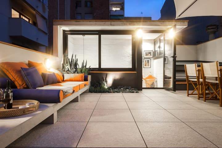 ★ TOP House with big Terrace and Work area ★