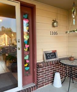 Front door to the property
