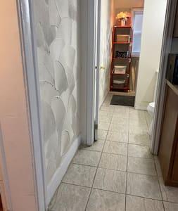 Ingen trapper eller trin til at gå ind