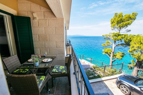 Apartments Vista Mare - Private beach house - A2
