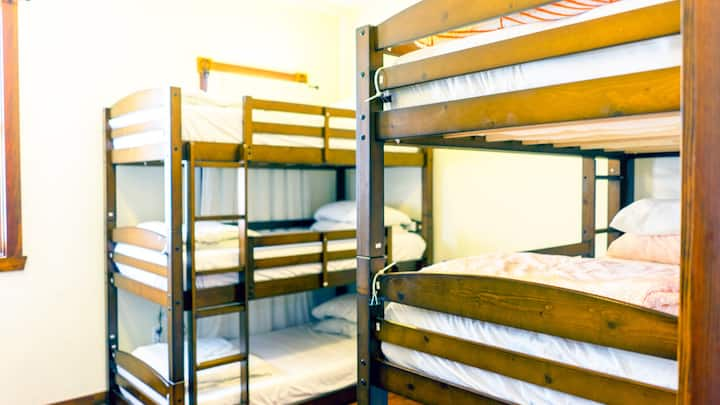 1 Bed in a 6 Bed Dorm at Fun Little Italy Hostel