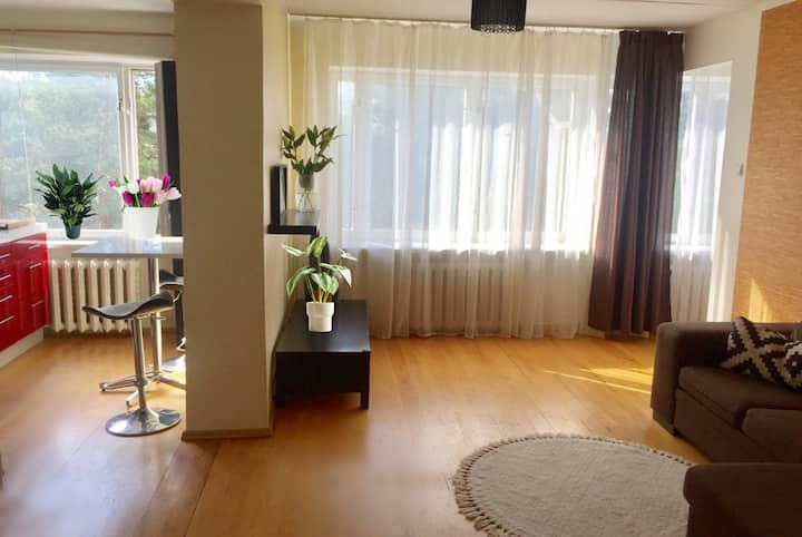 Nice apartment in Nõmme just 18min from the Center