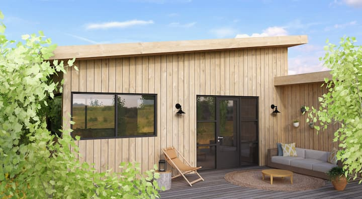 Charmant chalet direct aan meer, FR