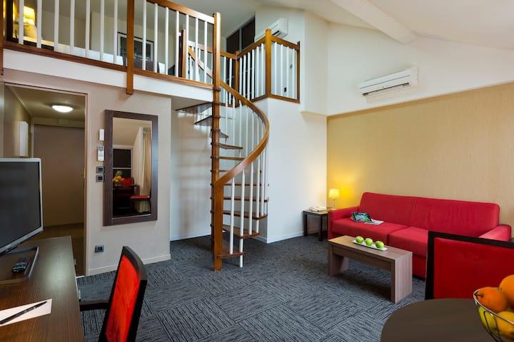 Bel appartement dans une résidence de tourisme