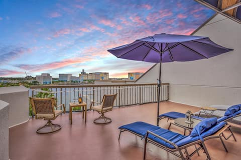Moderni huoneisto yksityisellä terassilla Universalin vieressä