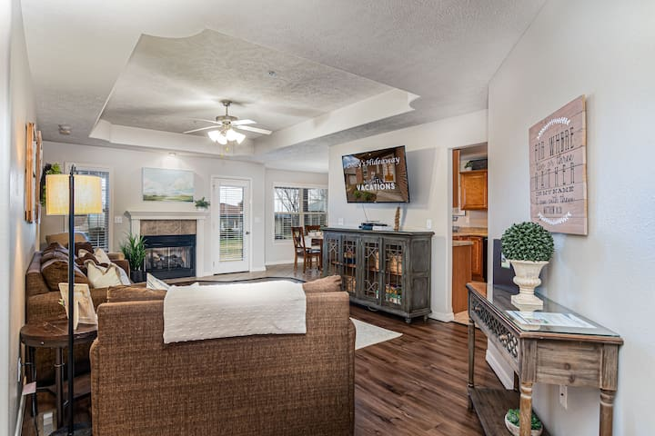 Walk into this spacious living room and be greeted with your home away from home!