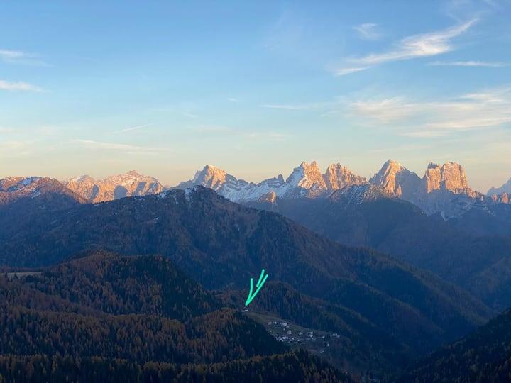 La casa di Heidi nelle Dolomiti