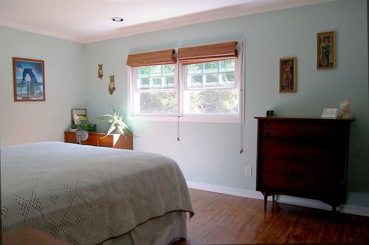 Master bedroom (view from the doorway)