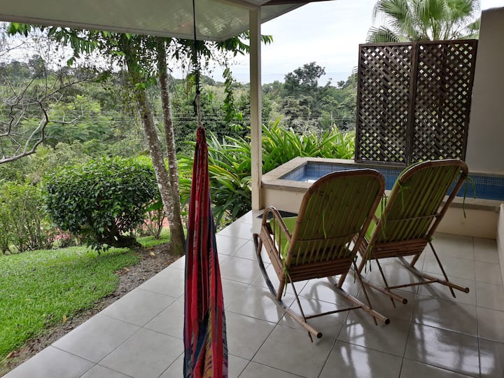 Casa Serena: your serene terrace on the tropics