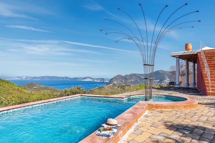 Villa Lithi - magnificent sea view
