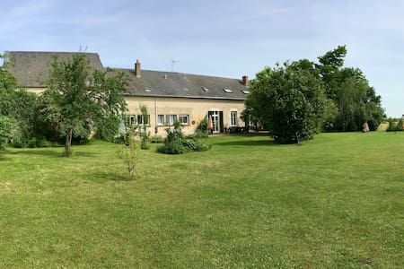 farmhouse in close proximity of the  Loire castles