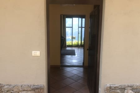 Wide entrance with no stairs into the main level of the property.